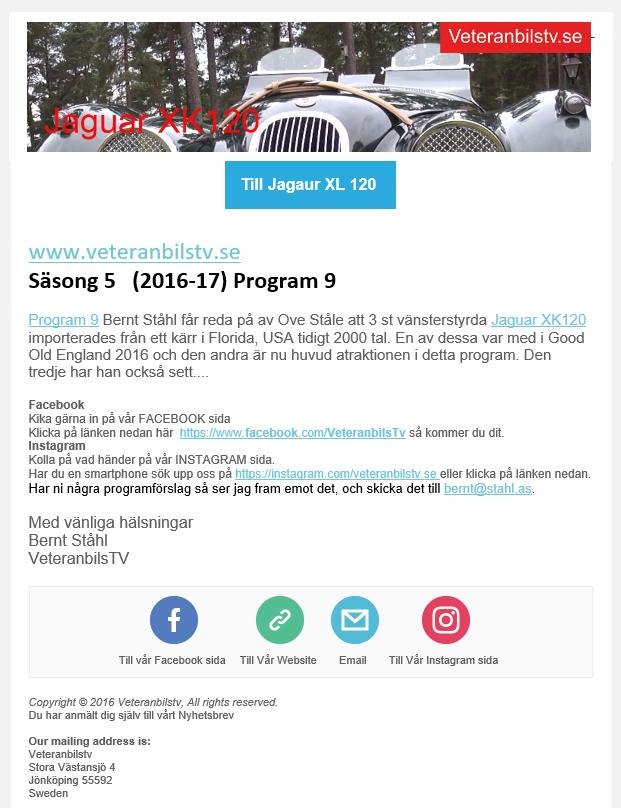 Veteranbilstv.se - Jaguar XK 120